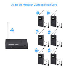 WPM-200 In Ear Stage Audio Stereo Wireless Monitoring System with 4PCS Receivers