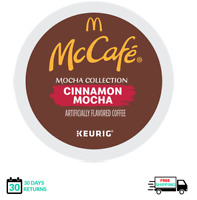 McCafe Cinnamon Mocha Keurig Coffee K-cups YOU PICK THE SIZE