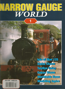 Narrow Gauge World Magazines - various early issues at £6.50 each post free