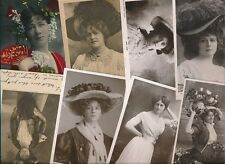 More details for actresses theatre stage music hall collection 70+ c1900s ppcs