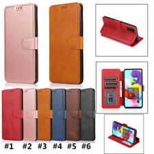 For Samsung A91 A70S M30/A40S A70 A10 Phone Case Magnetic Leather Flip Wallet