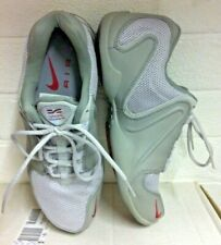 Ladies Vintage 90s NIKE AIR CROSS TRAINING 🔥 UK Size 4.5 Grey Red Sole TRAINERS