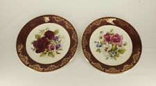 Weatherby Royal Falcon Gift Ware Decor Plates Set Of 2