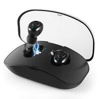 True Bluetooth 5.0 Headset Mini TWS Wireless In-Ear Stereo Earphones Earbuds 4g
