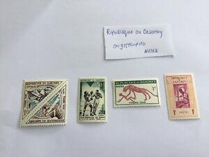 Republique Du Dahomey , Africa , Unused Stamps