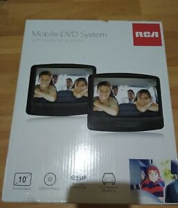 """RCA Mobile DVD System with 10"""" Dual Screens for Car NEW!"""