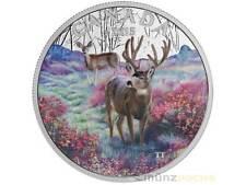 20 $ Dollar Misty Morning Mule Kanada Canada 2015 PP 1 oz Silber silver Proof