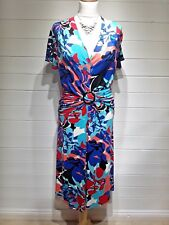 Heine Dress ~ Size 14 ~ Multi coloured ~ Cap Sleeve - Casual, Everyday - 1382