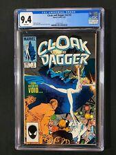 Cloak and Dagger #v2 #2 CGC 9.4 (1985)