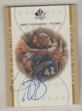 2000-01 SP Authentic Sign Of The Times Jerry Stackhouse Autograph