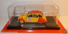 ELIGOR AUTO PLUS CITROEN 2CV RACING CUP OUI OUI N°73 FUCHS 1/43 IN BLISTER BOX