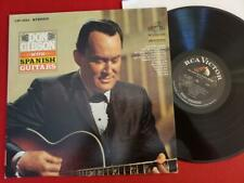 Don Gibson Spanish Guitars with Chet Atkins LSP-3594 vtg 1966 NM vinyl lp record