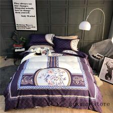 Oriental Classical Bedding Set 4pcs Duvet Cover Set Bed Sheet Queen King Size