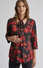 Dorothy Perkins - Maternity Red Floral Print Shirt - Size 14 - BNWT