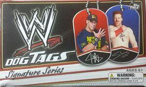 WWE DOGS TAGS Signature Series 2013 ( single )