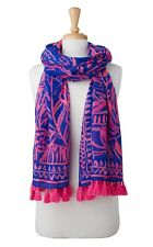 Lilly Pulitzer STAN STILL RESORT SCARF Shawl Wrap Pareo Beach CoverUp - NWT