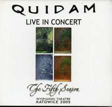 Quidam ‎– The Fifth Season - Live In Concert CD