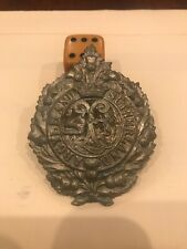 old military Hat Badges