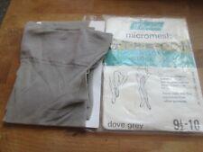 Vintage New st michael dove grey nylon stockings size 9.5 -10 Shoe size 3-5.