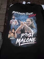 Post Malone t-shirt Runaway Tour 2019, Hip Hop RnB Rap Music Tee !