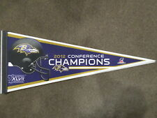 2012 BALTIMORE RAVENS CONFERENCE CHAMPIONS PENNANT
