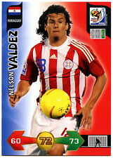 Nelson Valdez Paraguay Adrenalyn XL World Cup 2010 Football Trade Card (C244)
