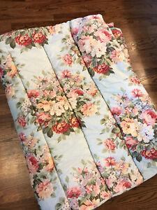 Ralph Lauren Stone Harbour Floral Twin Comforter Sateen