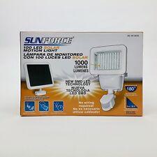 New in Box Sunforce 82101 100 LED Solar Motion Light