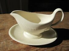 Wedgwood Queen's Ware EDME - Gavy Bowl with Attached Underplate