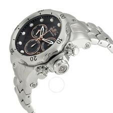 New Mens Invicta 23886 Venom Swiss Z60 Black Dial Big 54mm Bracelet Watch