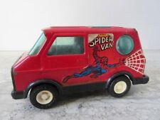 Old Vintage Tin Buddy L Spider Man Toy Van Made in Japan