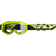 Fly Racing Focus Youth Hi-Vis Yellow Motocross MX Goggle - Clear lens 7104644