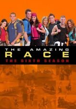 THE AMAZING RACE  6 (2004-2005) Host Phil Keoghan US TV Season Series NEW DVD R1