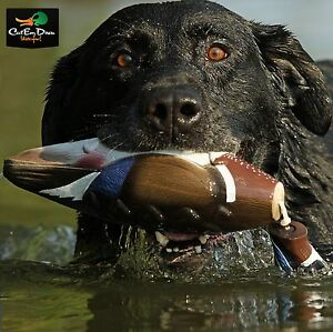 AVERY GREENHEAD GEAR GHG DOG TRAINING ATB EZ BIRD WOOD DUCK DUMMY BUMPER