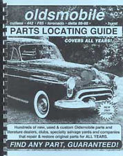 Find ANY Oldsmobile part with this book. Guaranteed.