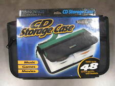 MEDIATOTE CD DVD Games Black Storage Organizer Case Wallet Holds 48 NEW Lot of 6