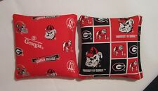 Georgia Bulldogs Cornhole Bags FREE SHIPPING!!! Corn hole Bags GA Set of 8
