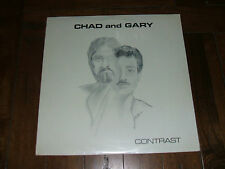 Chad and Gary - Contrast 1984 SEALED Mint M- LP Private Bob Hope Lemon Drop Kid