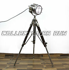 Classical Telescopic tripod LED Searchligh Designer vintage style Low floor lamp