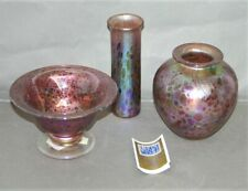 More details for collection of decorative isle of wight studio glassware - vases -thames hospice