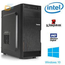 PC DESKTOP COMPUTER FISSO WINDOWS 10 ORIGINALE CPU INTEL RAM 4GB UFFICIO/CASA