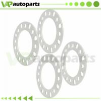 """6mm 1/4"""" 4Pcs Wheel Spacers 8Lug 8x6.5 8x165.1 8x170 For Ford Chevy GMC Dodge"""