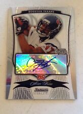 Arian Foster 2009 Sterling rc auto #d to 599 Texans