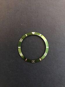 Genuine Rolex 16610LV B5 Green Bezel Insert