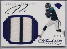 2016 Allen Robinson Flawless Sapphire Auto/ Patch #STAR 4/10 Penn State Jaguars