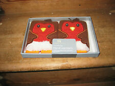 AROMA HOME NEW PAIR ROBIN HANDWARMERS REUSEABE HEAT GEL PACKS IDEAL COLD WINTERS