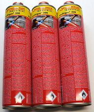 ROTHENBERGER Multigas 300 - 3 Gaskartuschen a´600ml, Flammtemperatur bis 1900°C