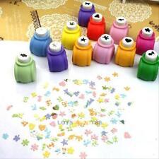 10Pcs Scrapbooking Press Album Mini Paper Punch Craft Creative DIY Embossing Kit