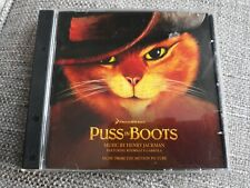 PUSS IN BOOTS CD SOUNDTRACK - HENRY JACKMAN - RARE