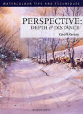 Perspective Depth & Distance, Geoff Kersey - New Art Drawing Painting Book, pb